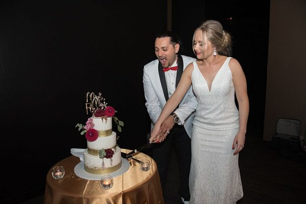 Hotel Grand Chancellor Wedding - Cutting Cake 1
