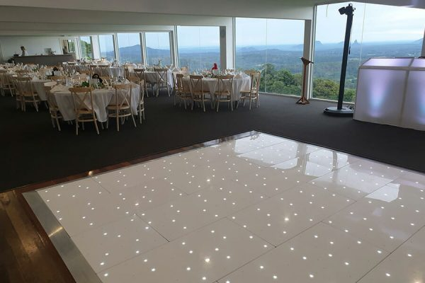 Maleny Wedding Starlight Dance Floor Hire