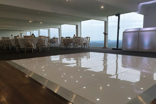 Tranquil Park Wedding Maleny Wedding Starlight Dance Floor Hire