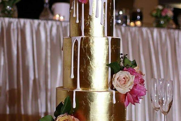 Greek Club Wedding - Cake