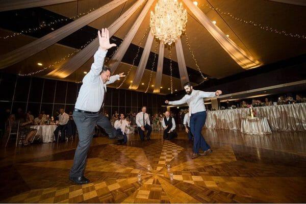 Greek Club Brisbane Wedding - Reception Vodka Dancing