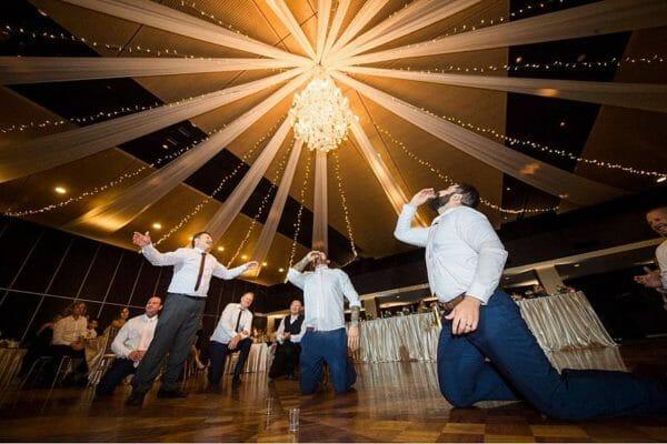 Greek Club Brisbane Wedding - Reception Vodka Shots
