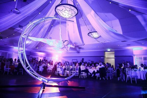Hillstone - Corporate Event Uplighting with Performer
