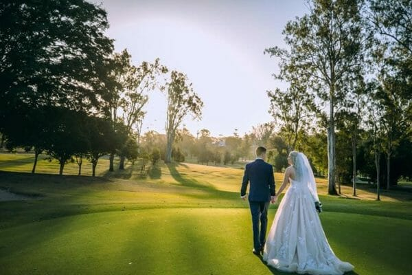 Hillstone St Lucia - Bride & Groom Golf Course