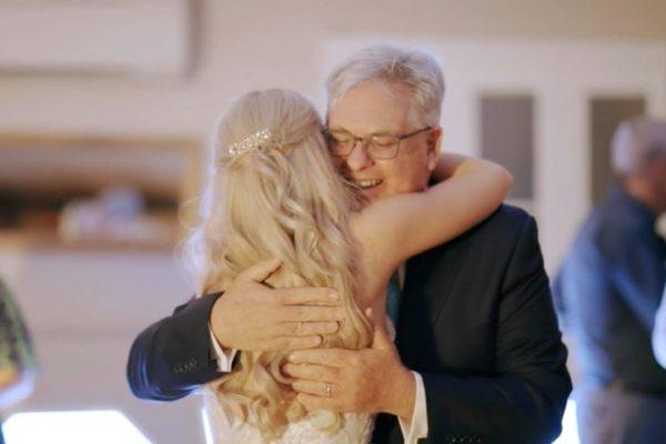 Hillstone St Lucia - Bride Hugging Father