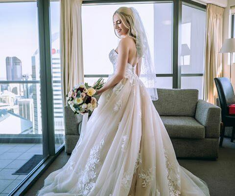 Hillstone St Lucia - Brides Wedding Dress
