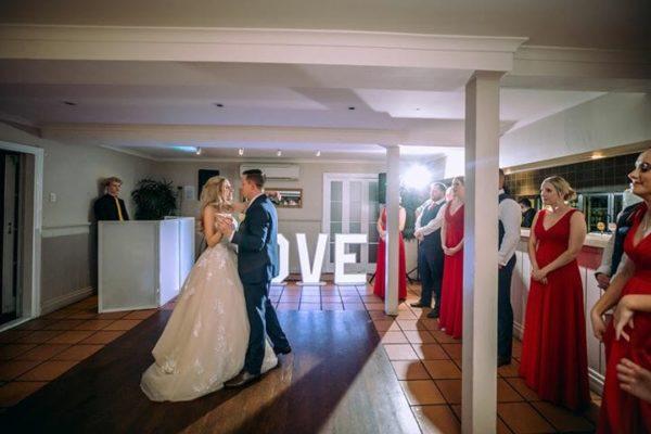 Hillstone St Lucia Wedding - Bride & Groom First Dance DJ Blair