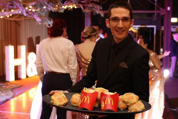 Maccas Cheeseburger Unique Wedding Farewell - Brian Davis MacDonalds
