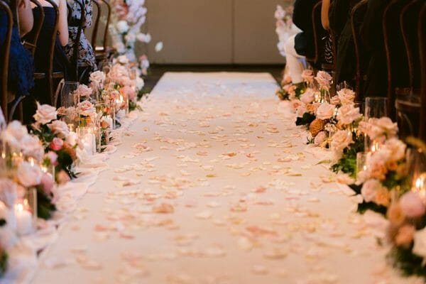 Victoria-Park-Wedding-Ceremony-Floral-Walkway