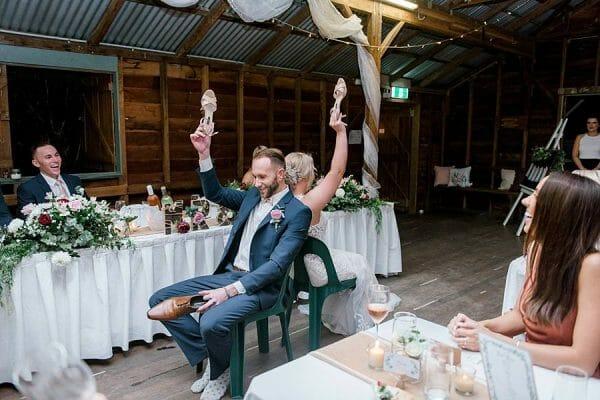 Rustic Hinterland Verrierdale Hall Wedding - Shoe Game 2