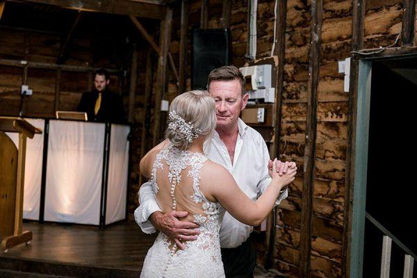 Rustic Hinterland Wedding - Father Daughter Dance DJ Zac B