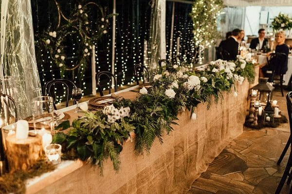 Cherbon Waters - Bridal Table