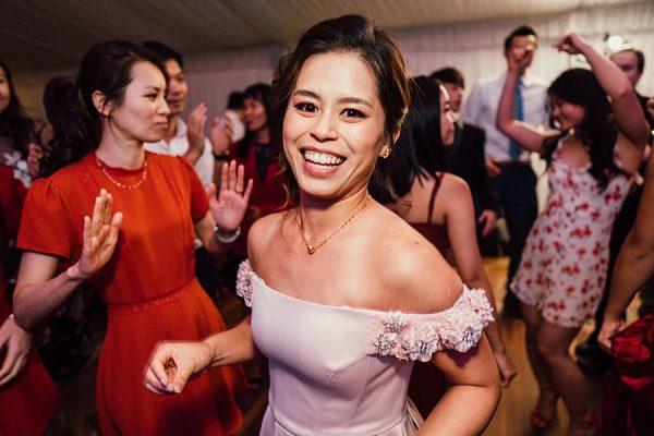 Cherbon Waters Wedding DJ - Dancing Bride