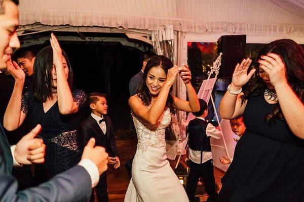 Cherbon Waters Wedding DJ - Dancing Bride & Guests