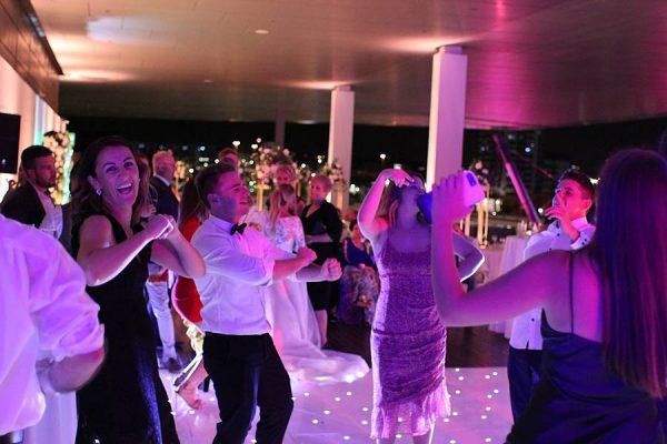 GOMA Brisbane Wedding - Starlight Dance Floor Dancing 12