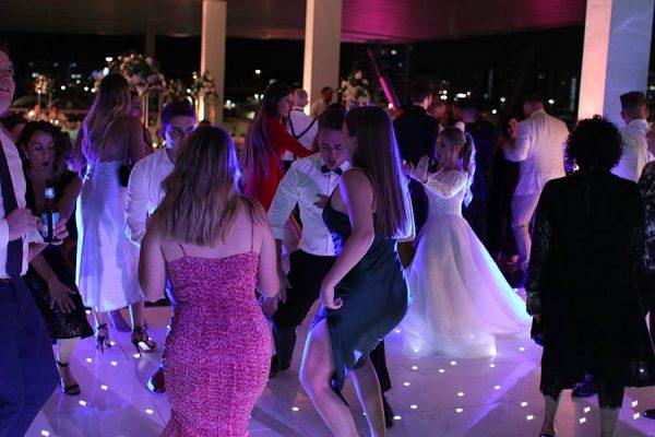GOMA Brisbane Wedding - Starlight Dance Floor Dancing 4 Bride
