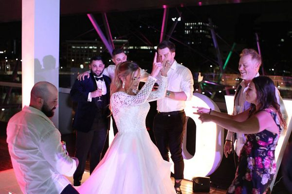 GOMA Wedding - Bride Dancing aa