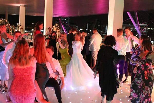GOMA Wedding - Starlight Dance Floor Dancing 5 Bride