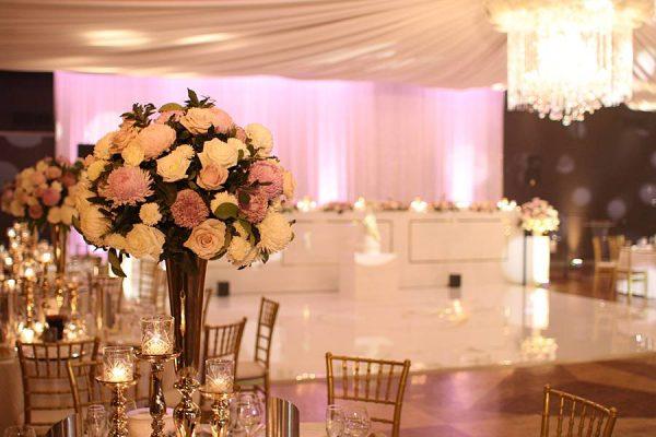 Sparkular-Greek-Club-Greek Club Wedding Head Table Uplighting