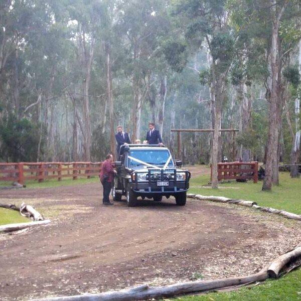 Gordon Country Wedding - Bridal Car