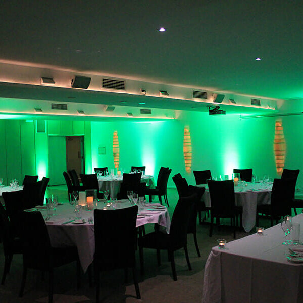 GREEN UPLIGHTING | Alabaster at Victoria Park