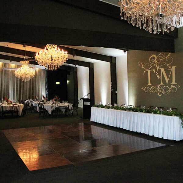 WHITE UPLIGHTING | Ballroom at Victoria Park