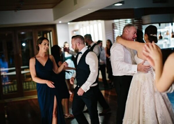 Wedding at Sirromet Wines - Dancing 4