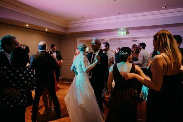 Stamford Plaza Brisbane Reception - dancing fun