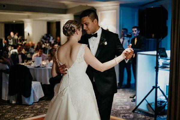 Stamford Plaza Brisbane Wedding - reception first dance