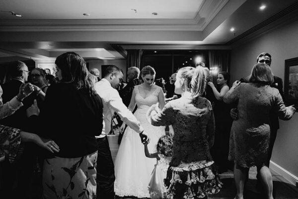 Stamford Plaza Brisbane - dance floor fun bride