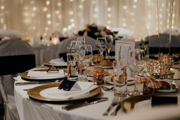 Stamford Plaza Brisbane - wedding table setting