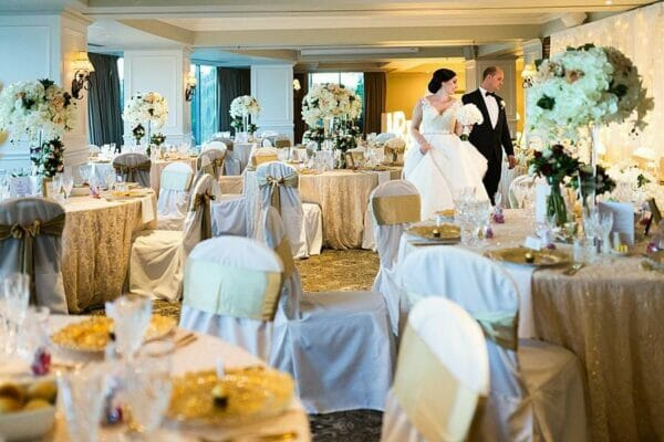Stamford Plaza Reception - bride groom room shot