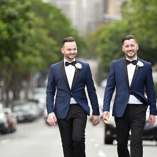 Stamford Plaza Wedding Happy Couple - Pete & Lee