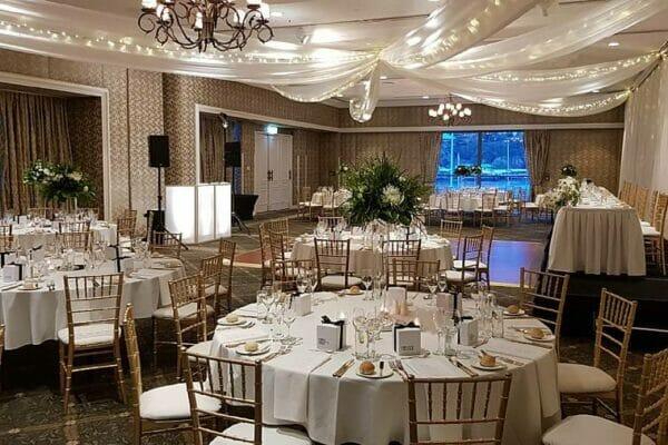 Unforgettable Stamford Plaza - Reception Room Lighting Styling