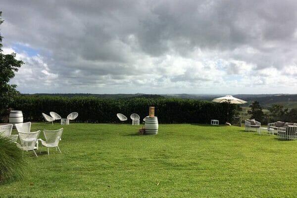 Byron View Farm Wedding - Cocktail Area