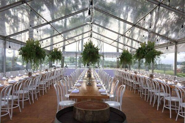 Byron View Farm Wedding Reception Marquee