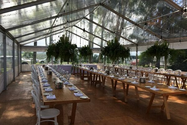 Byron View Farm Wedding - Reception Marquee