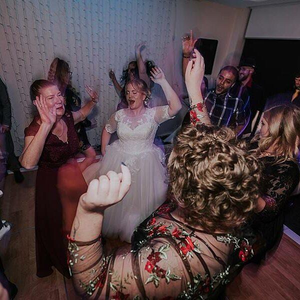 Clear Mountain Lodge - Bride Dancing MC DJ
