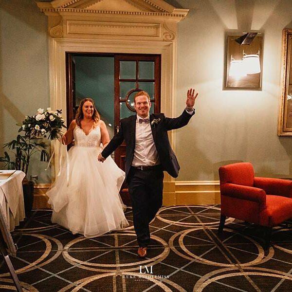 Customs House Brisbane Wedding - Bride & Groom Entrance