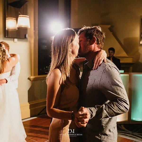 Customs House Brisbane Wedding - DJ Peter Bride & Groom Dancing