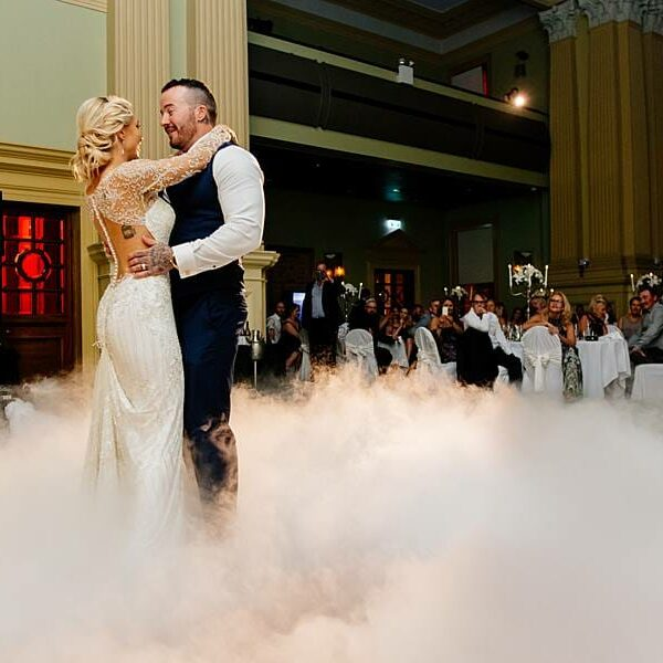 Customs House Wedding - Reception Bridal Waltz Dancing on a Cloud 2