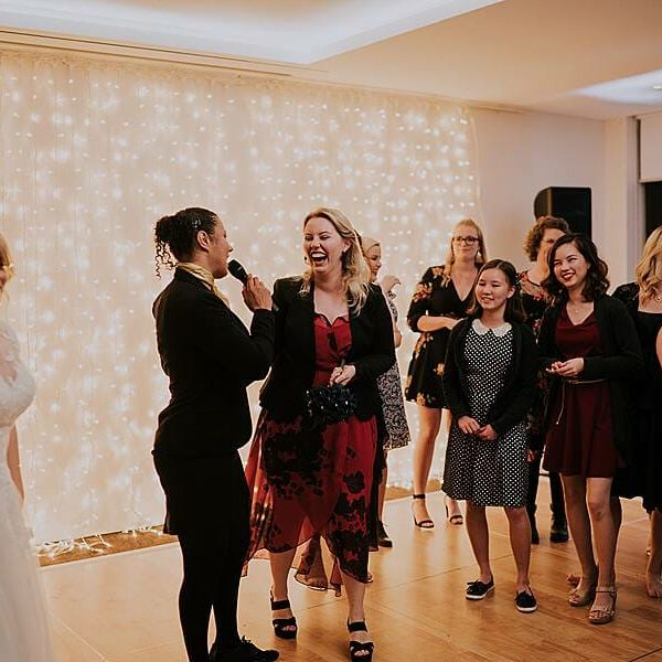 Fun Wedding Games Clear Mountain Lodge - MC Natalie Turner