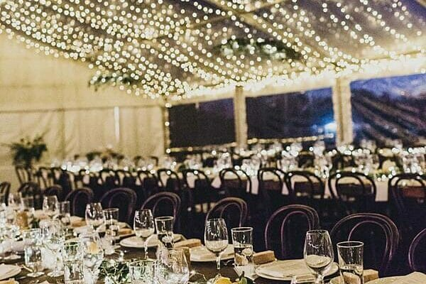 Maleny Retreat - Wedding Reception Marquee Styling