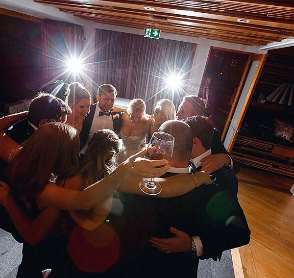 Noosa Wedding DJ NAK Photography - Wedding Reception Dance Floor Fun