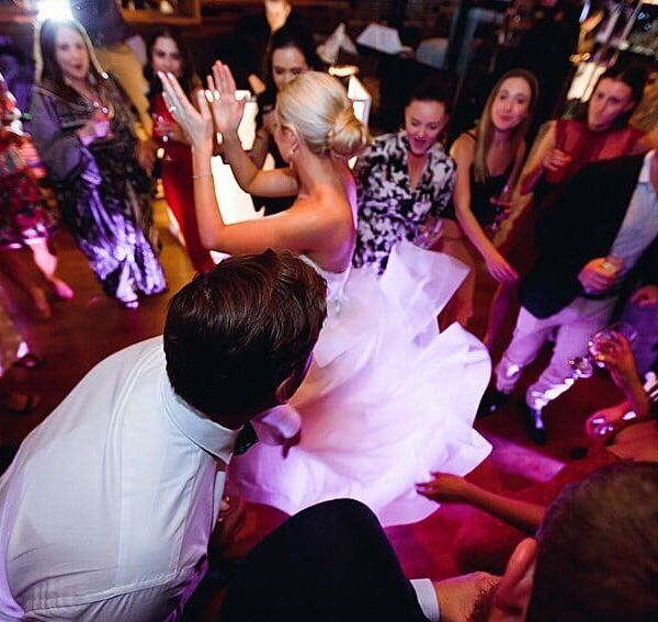 Noosa Wedding DJ Ricky's River Bar & Restaurant - Bride Dancing 2