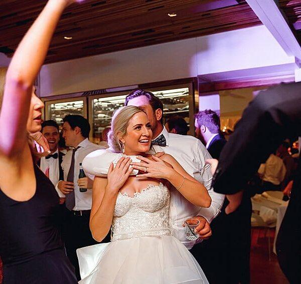Noosa Wedding Ricky's River Bar & Restaurant - Bride & Groom