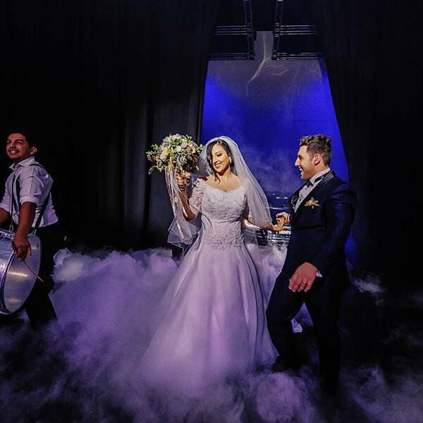 Royal International Convention Centre Wedding - Cloud Entrance