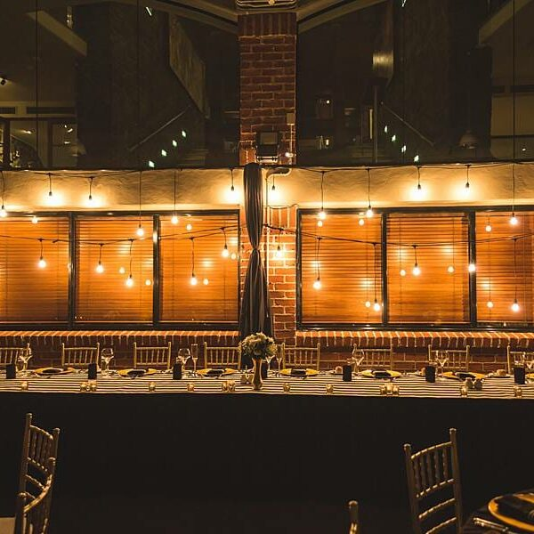 Sirromet Winery Barrel Hall Wedding - Reception Bridal Table