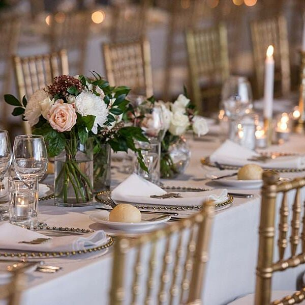 Wedding at The Joinery - Table Setting