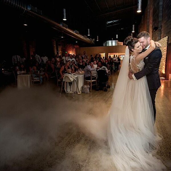 Wedding at The Joinery - Dancing on a Cloud Uplighting